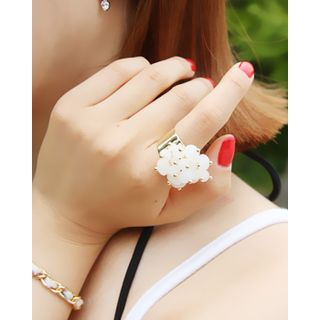 Beaded Metal Ring 1044583755