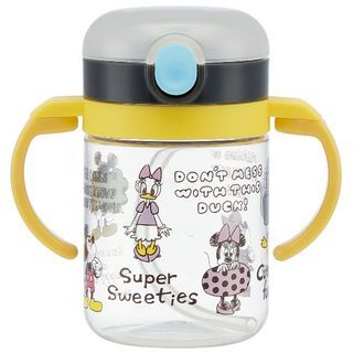 Mickey & Friends Mug Cup with Straw for Kid 1066843766