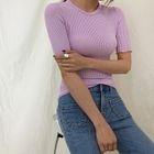 Slim-Fit Ribbed T-Shirt 1596