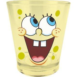 SpongeBob Crystal Plastic Cup (Yellow) 1064990197