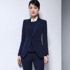 Blazer / Dress Pants / Pencil Mini Skirt / Shirt / Vest / Set 1596