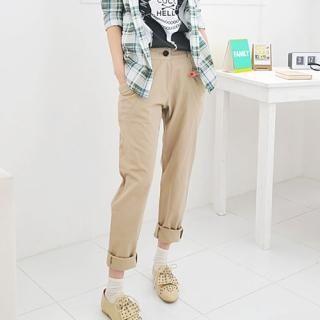 Buy Miss Hong Cotton Pants 1022489783