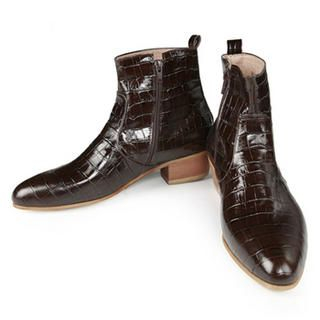Picture of Purplow Handmade Boots 1014319318 (Boots, Purplow Shoes, Korea Shoes, Mens Shoes, Mens Boots)