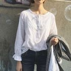 Linen Cotton Blouse 1596