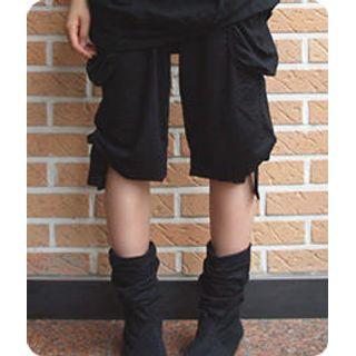 Buy Sechuna Ribbon Cargo Pants 1005045265