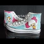 Baby Blue High-Top Canvas Sneakers от YesStyle.com INT