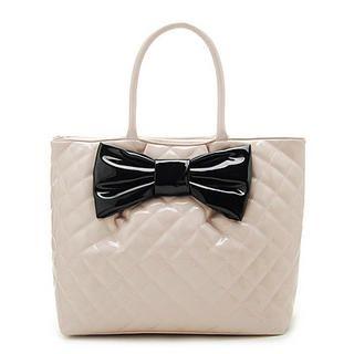Buy Let's Fly Bow Front Shoulder Bag Pink – One Size 1022786993