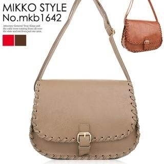 Buy Mikko Faux-Leather Cross Bag 1022940665