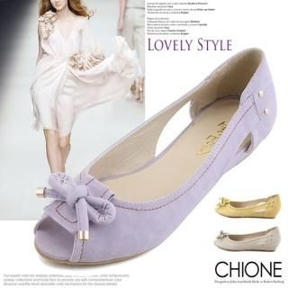 Buy Chione Open-Toe Flats 1022595326