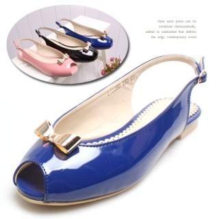 Buy Woorisin Patent Sandals 1022715835