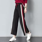 Color Block Wide Leg Pants 1596