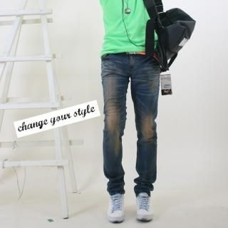 Picture of Groove9 Washed Jeans 1023061159 (Groove9, Mens Denim, Korea)
