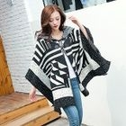 Patterned Hooded Cape 1596