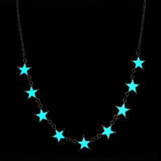 Glowing Star Necklace 1058083177