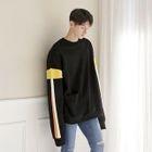 Color-Block Loose-Fit Sweatshirt 1596