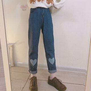 Heart Capri Jeans 1065209903