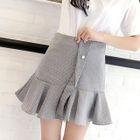 Ruffle Mini Skirt 1596