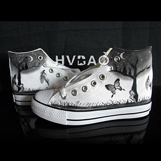 Picture of HVBAO Moonlit Night High-Top Sneakers 1012144154 (Sneakers, HVBAO Shoes, Taiwan Shoes, Womens Shoes, Womens Sneakers)