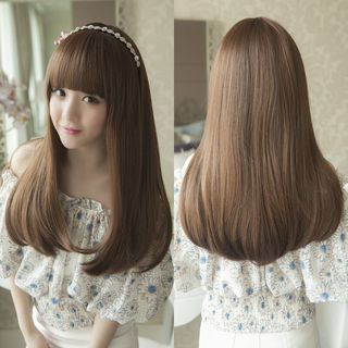 Image of Long Straight Full Wig