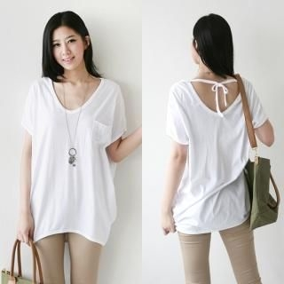 Picture of Antic Beads Rhinestone V-Neck Long T-Shirt 1022878706 (Antic Beads Dresses, Womens Dresses, South Korea Dresses, T-Shirt Dresses)