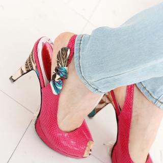 Buy Drama Platform Slingback Sandals 1022581489