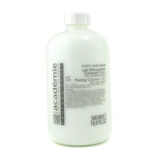 100% Hydraderm Peeling Cleanser 2 in 1  500ml/16.9oz