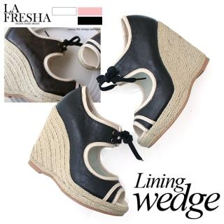 Picture of LA FRESHA Wedge Sandals 1022151288 (Sandals, LA FRESHA Shoes, Korea Shoes, Womens Shoes, Womens Sandals)