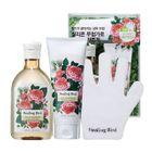 Healing Bird - Botanical Hair Set (Freesia & Green Bouquet): Shampoo 300ml + Conditioner 200ml + Quick-Dry Glove 1pc 1596