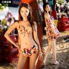 Set: Print Bikini + Cover 1596
