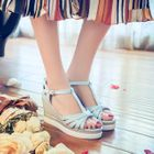 Wedge Sandals Pink - 38 от YesStyle.com INT