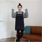 Plain Jumper Dress 1596