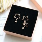 Cutout Star Earrings 1596