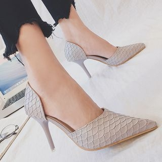 Pointed Pumps 1062097764