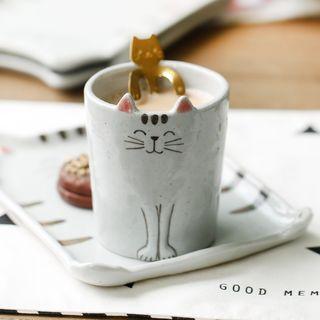 Ceramic Cat Cup 1061730696