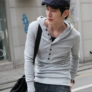 Picture of Groove9 Hood Tee Shirt 1022425850 (Groove9, Mens Tees, Korea)