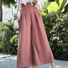 Pleated Wide Leg Pants 1596
