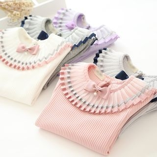 Kids Ribbed Long-Sleeve T-Shirt 1060701467