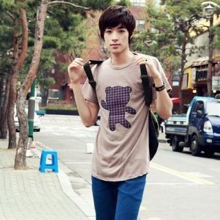 Picture of Portfranc Short-Sleeve T-Shirt 1022567214 (Portfranc, Mens Tees, South Korea)