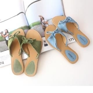 Picture of CLICK Bow Front Sandals 1022859007 (Sandals, CLICK Shoes, Korea Shoes, Womens Shoes, Womens Sandals)