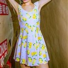 Lemon Print Swimdress 1596