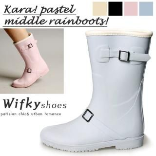 Picture of Wifky Rain Boots 1022822017 (Boots, Wifky Shoes, Korea Shoes, Womens Shoes, Womens Boots)