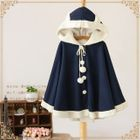 Ear Hooded Cape 1596