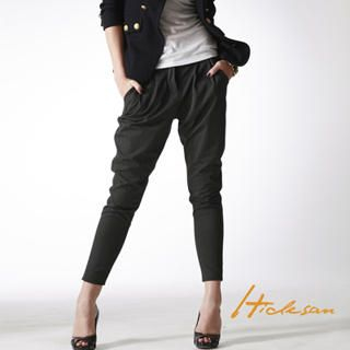 Picture of HIDESAN Cropped Trousers 1021483889 (Womens Trouser Pants, Womens Cropped Pants, HIDESAN Pants, Taiwan Pants)