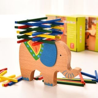 Wooden Toy Balance Beam 1063373113