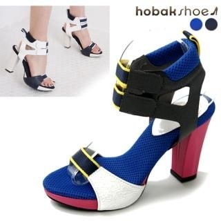 Buy HOBAK girls Ankle-Strap Platform Sandals 1022838232