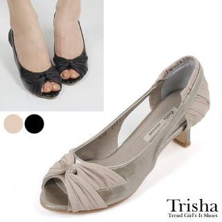 Buy Trisha Bow-Accent Open-Toe Pumps 1022458330