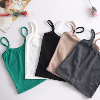 Plain Camisole Top / Tank Top 1060178717