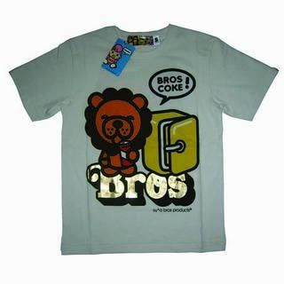 Picture of A Bros Products Baby Lion Drink Coke Tee 1014070173 (A Bros Products, Mens Tees, Hong Kong)