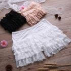 Lace-Trim Under Shorts 1596