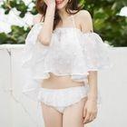 Set: Lace Bikini + Cover-Up Top 1596